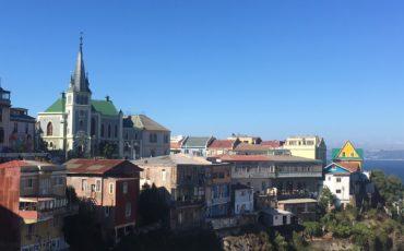 Toits de Valparaiso